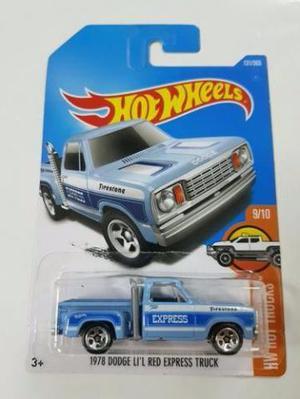 Hot Wheels  Dodge Li' L Red Express Truck