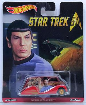 Hot Wheels Pop Culture Star Trek Deco