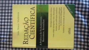 Livro de Redação Científica