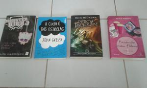 Vendo livros em ótimo estado!