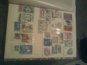 Album de selos nacionais e estrangeiros