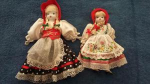 Bonecas de porcelana Blumenau e Pomerode
