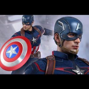 Capitão América - Hot Toys - Vingadores + Brindes PS4