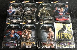 Coleção completa Hot Wheels Batman Vs Superman