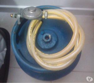 Botija de gás + mangueira + regulador