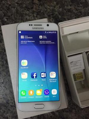 Galaxy s6 Flat de 32GB branco