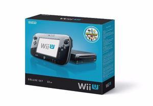 Nintendo Wii U Deluxe 32gb Desbloqueado