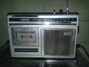 Rádio cassete. toshiba RT-.