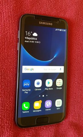 Samsung Galaxy s7 flat 32 gigas preto