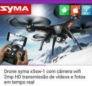 Drone syma x5sw-1 com câmera 2mp hd