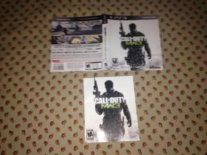 Encarte e manual originais Call of Duty MW3 R$9