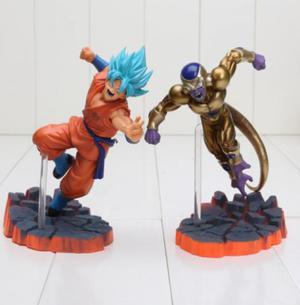 Figure Action Goku Vs Freezer Original A Pronta Entrega