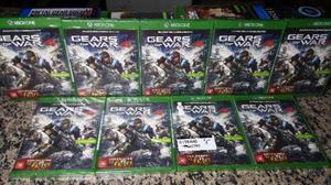 Gears of War 4 Xbox One Lacrado + Brinde