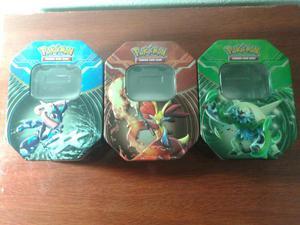 Latas para cards pokemon