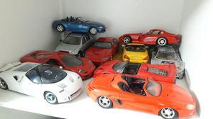 Vendo ou troco Miniaturas carros 1:18
