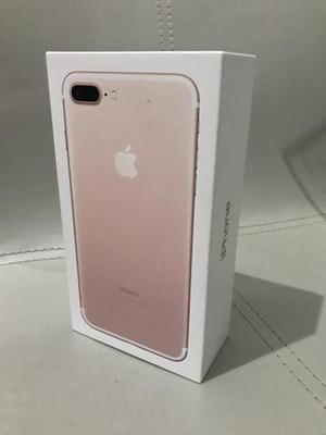 IPhone 7plus 32GB zero na caixa rose