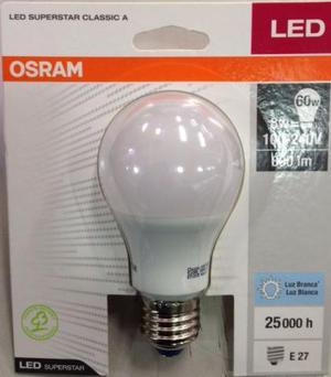 Lampada Led OSRAM Led Bulbo 9w Bivolt E27 Branca