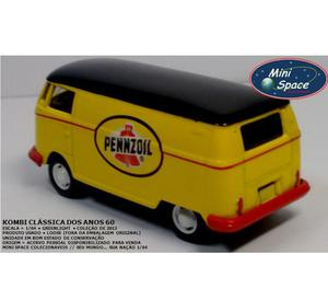 Miniatura 1:64 Kombi Pennzoil dos anos 60 da Greenlight