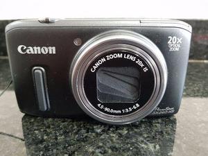 Máquina Fotográfica Canon Powershot Sx260 Hs Zoom Ótico