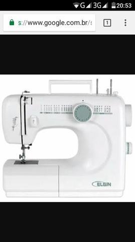 Máquina de costura doméstica Elgin Genius