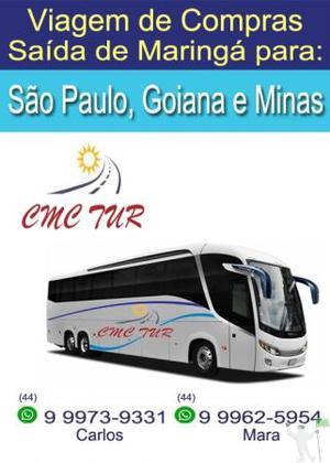 Viagem de Compras para São Paulo