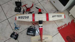 Aeromodelo, drone e Helicóptero