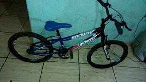 Bicicleta aro 20 de criança Semi nova