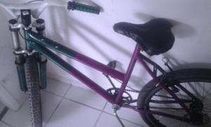 Bicicleta top suspençao aro vmax