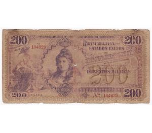 Compro Notas de Réis Do Império do Brasil Pago R$500 cada