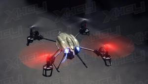 Drone - Quadricoptero Wltoys V-959 C/ Camera HD - 4 Canais