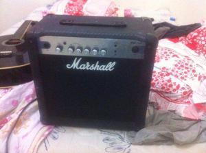 Cubo Marshall MG15CF troco por violão de aço