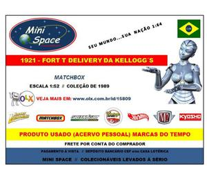 Miniatura 1:52 Ford T Delivery  Calhambeque da Matchbox