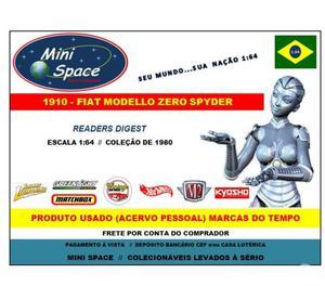 """Miniatura 1:64 Fiat Zero  """"Calhambeque"""" Readers"""