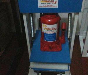 Máquinas de Fabricar chinelos Compacta Print, usadas apenas