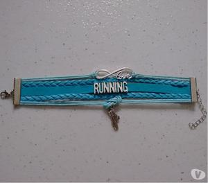 Pulseira Running - Corrida Azul