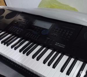 vende eletronic keyboard casio wk- -teclado