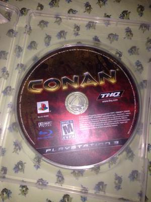 Conan o Bárbaro jogo PlayStation 3 raridade leia tudo R$50