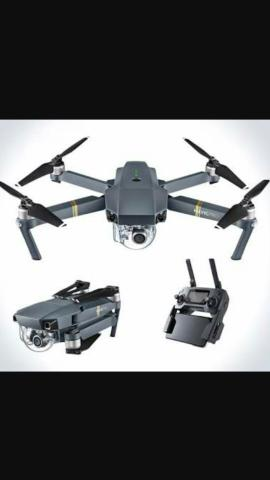 Drone DJi Mavic Pro 4K 12MP 3 Eixos - Cinza