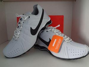 Nike Shox Junior Branco/Preto Aceito Cartões