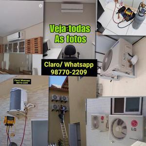 Instalação de Ar Condicionado Split - BELFORD ROXO