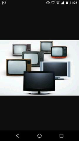 Consertos de televisores e equipamentos eletrônicos