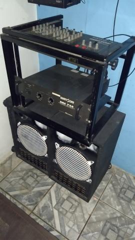 Mesa de som,marca watt Som DBS 720