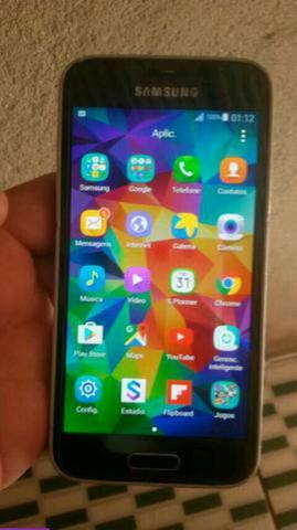 Samsung galaxy S5 mini duos 16 gigas com biometria