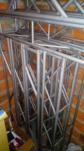 Kit Treliças, treliça estrutura Dj