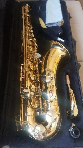 Sax Tenor Dourado - Arena - Afinação Em Si Bemol