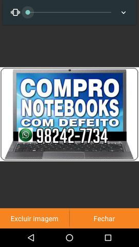 C o m p r o Notebook Com Defeito ou Funcionando pogo em