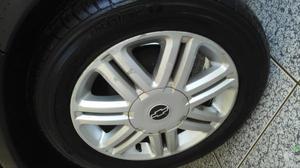 Vendo ou troco rodas 15 com pneus novo do Astra ORIGINAL GM