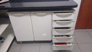Armário de aço Itatiaia (Bancada com 2 portas e 5 gavetas)