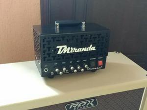 Amplificador Valvulado TMiranda Colossal 50w com Case