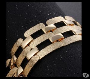 Bazar MT - Lindo Colar Feminino Dourado Luxor